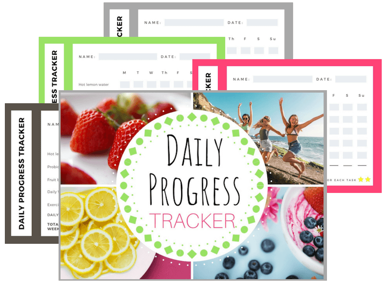 Daily Progress Tracker for the Spring Cleanse