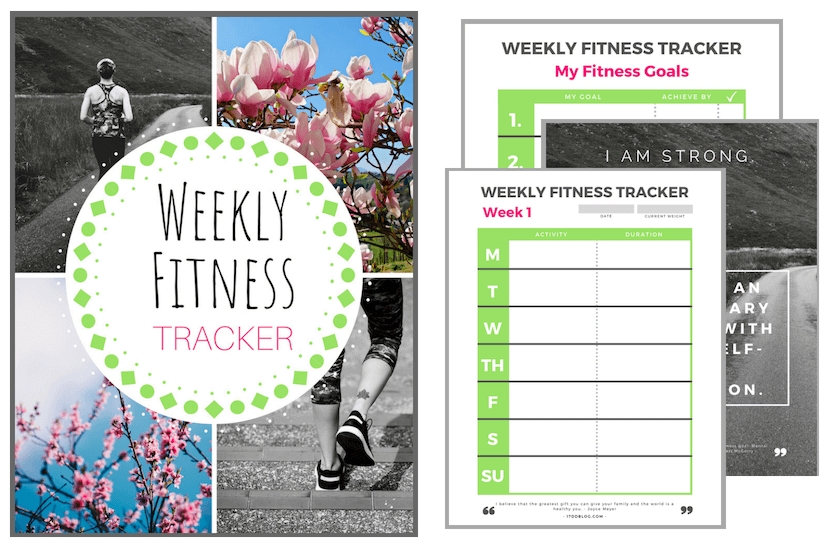 Fitness Tracker for the Spring Cleanse