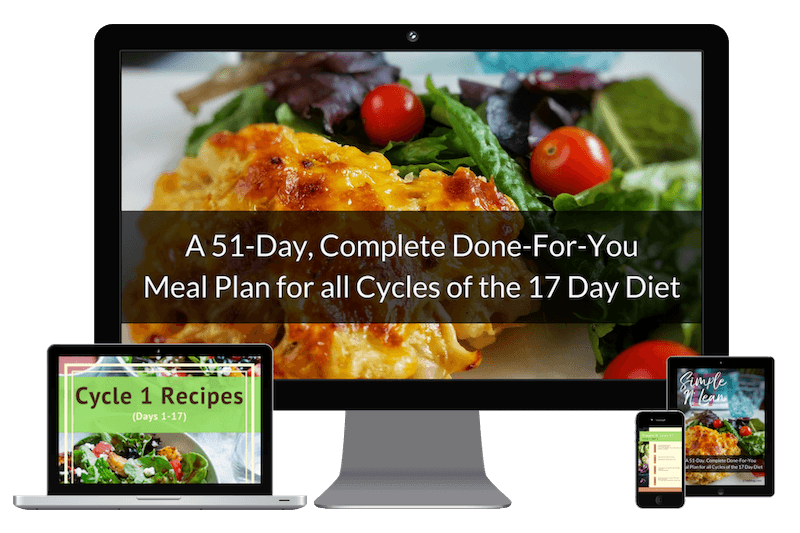 Simple N' Lean 17 Meal Plan for the 17 Day Diet