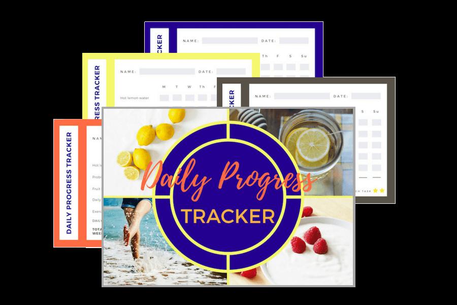 Daily Progress Tracker for Slimmer in 17