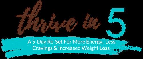 Thrive in 5 Summer Logo